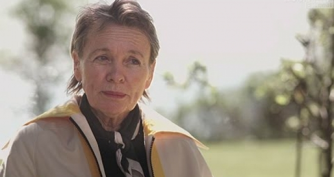 Laurie Anderson and Prepositions (Seriously…)