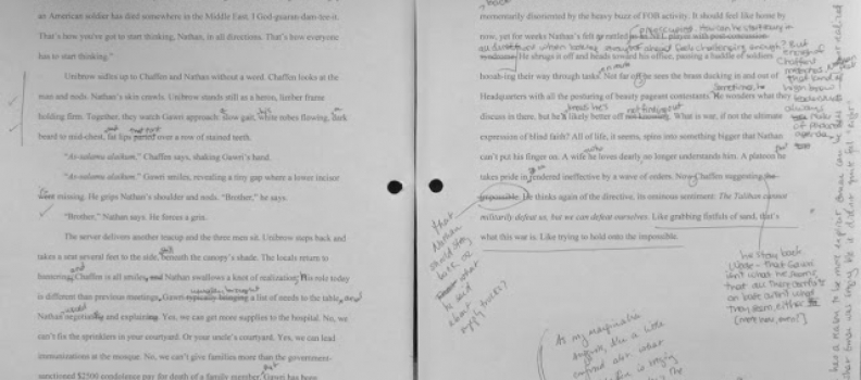 Revising the Novel: Before & After Examples